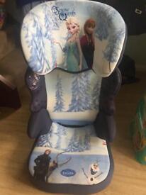 Girls car seat - Frozen