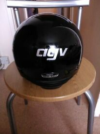 Helmet-for-scooter-moped-AGV-M-size-black-used
