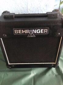 Behringer AC108 guitar amp 15W