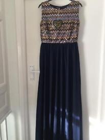 Brand new long dress size 12