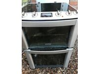Electrolux ceramic electric cooker double ovens