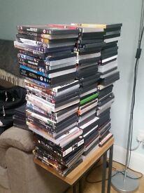 257 Assorted DVD's