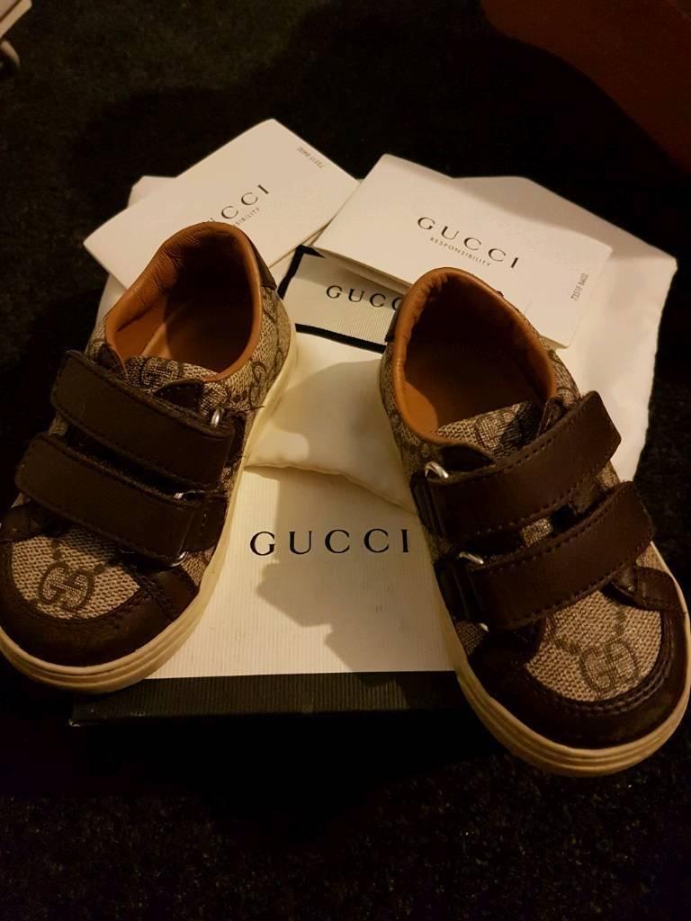 Gucci infant shoes