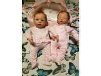 Reborn Lullaby Twins