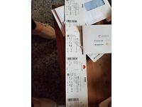 3 x face value tickets Marti Pellow Royal Albert Hall Friday 25 May