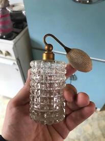 Old perfume glass