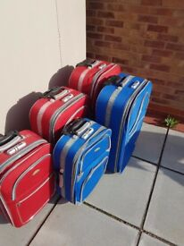 BANERLE SUITCASES - luggage pieces - assorted sizes from £5 each - USED hand / hold baggage