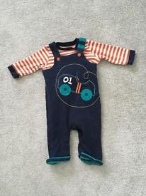 M&s dungarees 3-6