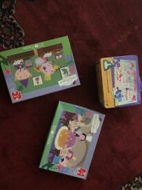 Jigsaw Puzzle Bundle 3 x Puzzles including Ben & Holly, ELC