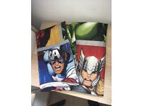 Kids bedroom curtains marvel avengers