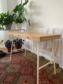 Wooden Desk IKEA perfect condition!