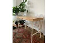 Wooden Desk IKEA perfect condition!
