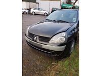 2006 RENAULT CLIO 1.2 PETROL BREAKING FOR PARTS
