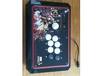 Limited Edition Marvel vs Capcom 3 Tournament Edition Arcade Stick PS3 with Original Box