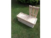 Superb Giant Jenga in Crate/Bench