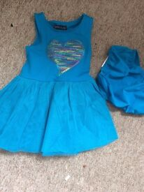 Baby girl dresses 9-12 months