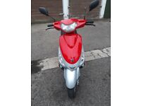 Peugeot V Civic 50cc moped lightly used 2012