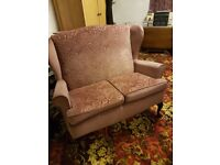 2 seater and 2 chairs