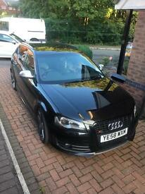 2008Audi S3 2.0 TFSI Sportback Quattro 5dr BOSE HEATED LEATHER SAT NAV £11995