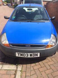 Ford ka.1.3. Blue 2003
