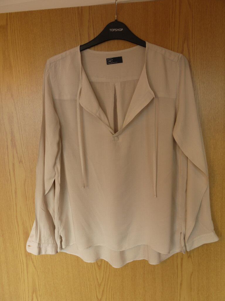 Light grey blouse