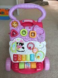 VTech baby walker - pink