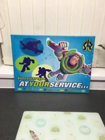 NEW TOY STORY BUZZ WALL CANVAS