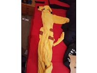 Pikachu onesie, size xl, worn once, bought at download festival 2013