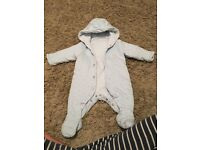Up to 1 month pram suit