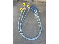 Four leg wire sling
