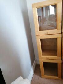 storage unit with 3 doors