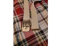 G-Star Raw White Canvas belt £10