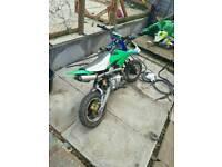 110 pitbike for sale not crosser/quad/field bike