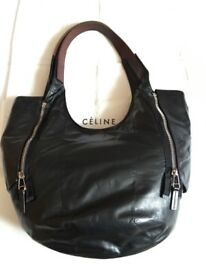 Celine nappa leather handbag