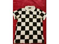 Lyle & Scott Vintage limited edition checkers polo - mens medium