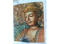 Paint by numbers canvas Buddha