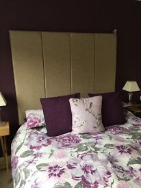 Wall fitting headboard