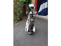 Golf clubs for sale with bag