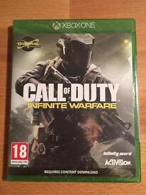 Call of Duty Infinite Warfare Xbox One Game New