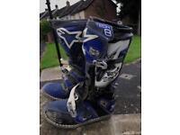 Alpinestars TECH 8 boots.. yz ktm rm crf quad motox motorcross