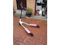 pink flicker scooter