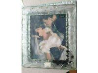 Waterford Crystal Marquis 8x10; rectangular floral photo frame - BNIB RRP £105