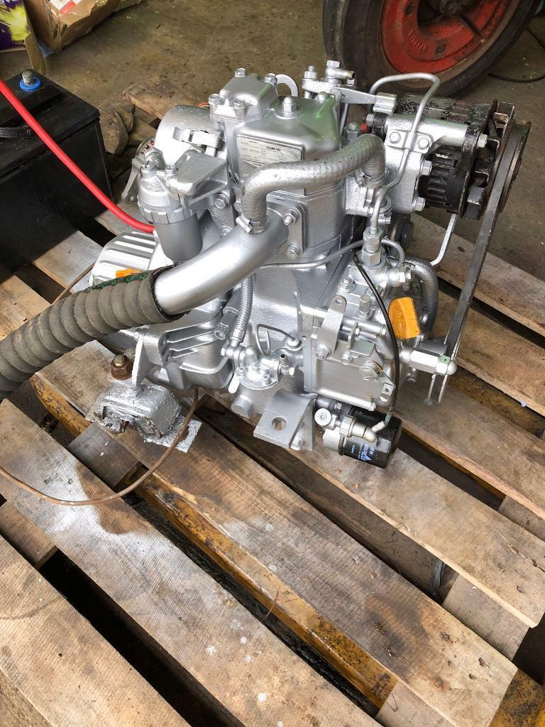 Yanmar 1GM10 Diesel Engine & Gearbox complete wiring loom controls ...