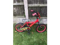 "COSMIC DRAG RACER 14"" BIKE, fully working, new stabilisers available if needed"