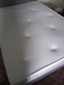 Memory foam topped mattress double free to pick up