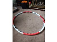 Weighted Fitness Exercise Hula hoop