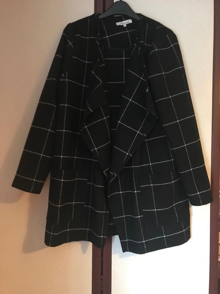 Peacocks waterfall style jacket/coat