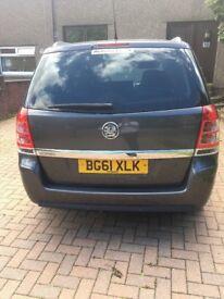 Vauxhall zafira design edition