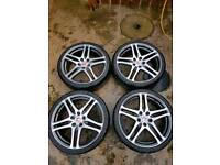 Honda civic type r rage wheels alloys
