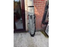 REASONABLE OFFERS INVITED FOR A KORUM CARP/COURSE FISHING READY 3 ROD HOLDALL